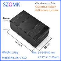1 Piece Electrical Box 54 145 80mm2 13 5 71 3 15 Inch Aluminum Enclosure Box