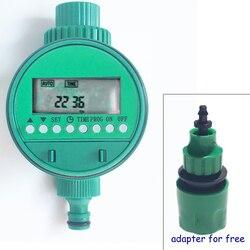Podlewanie ogrodu zegar cyfrowy czasowy wyłącznik przepływu wody automatyczne nawadnianie zegar elektroniczny ogrodowy sterownik nawadniania wodoodporny|Opryskiwacze|Dom i ogród -