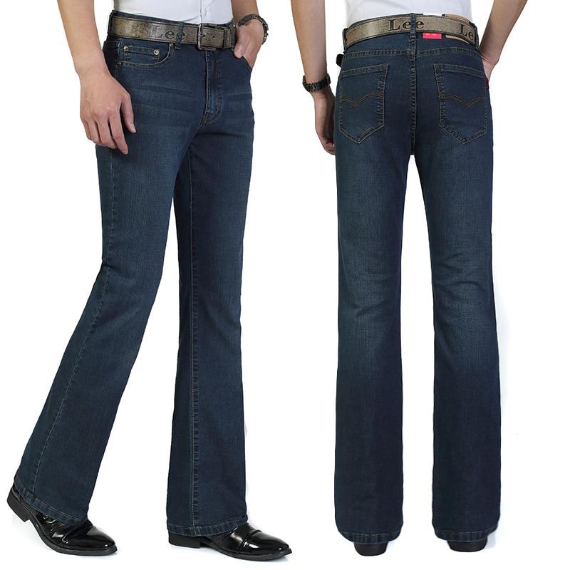 Mens Fashion Boot Cut Jeans