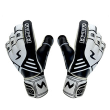 Adults Size Professional Goalkeeper Gloves Football Men Strong Finger Protection Soccer Goalie Thickened Latex