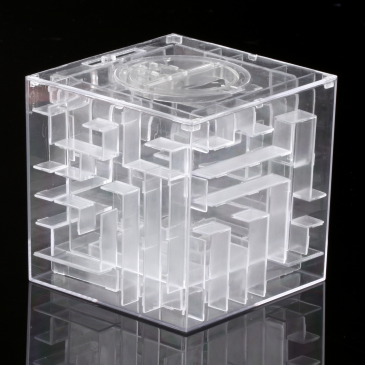 1pcs New Maze labyrinth Money Maze Bank Saving Collectibles Case ...