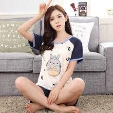 My Neighbor Totoro Cotton Summer Women Pajama Sleepwear Homewear