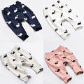 Baby Kids Girls Boys Cute Whale Printed Cotton Soft Pants Children Trousers Leggings