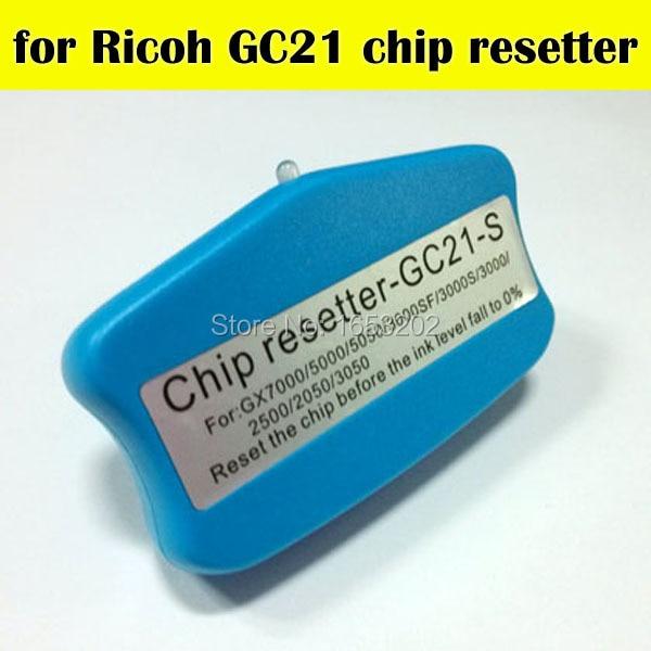 1 PC High Quality Chip Resetter For Ricoh GC21 Use For Ricoh GX3000SFN/GX3000/GX2500/GX2050N брелок blue sky 4s gx 273 gx