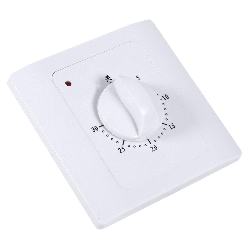 US $6 31 OFF Timer Steckdose Lichtschalter Timer Schalter AC 220 V 10A 30 Min Elektrische Zeit Countdown Digital Zeit Stecker Zeitschaltuhr