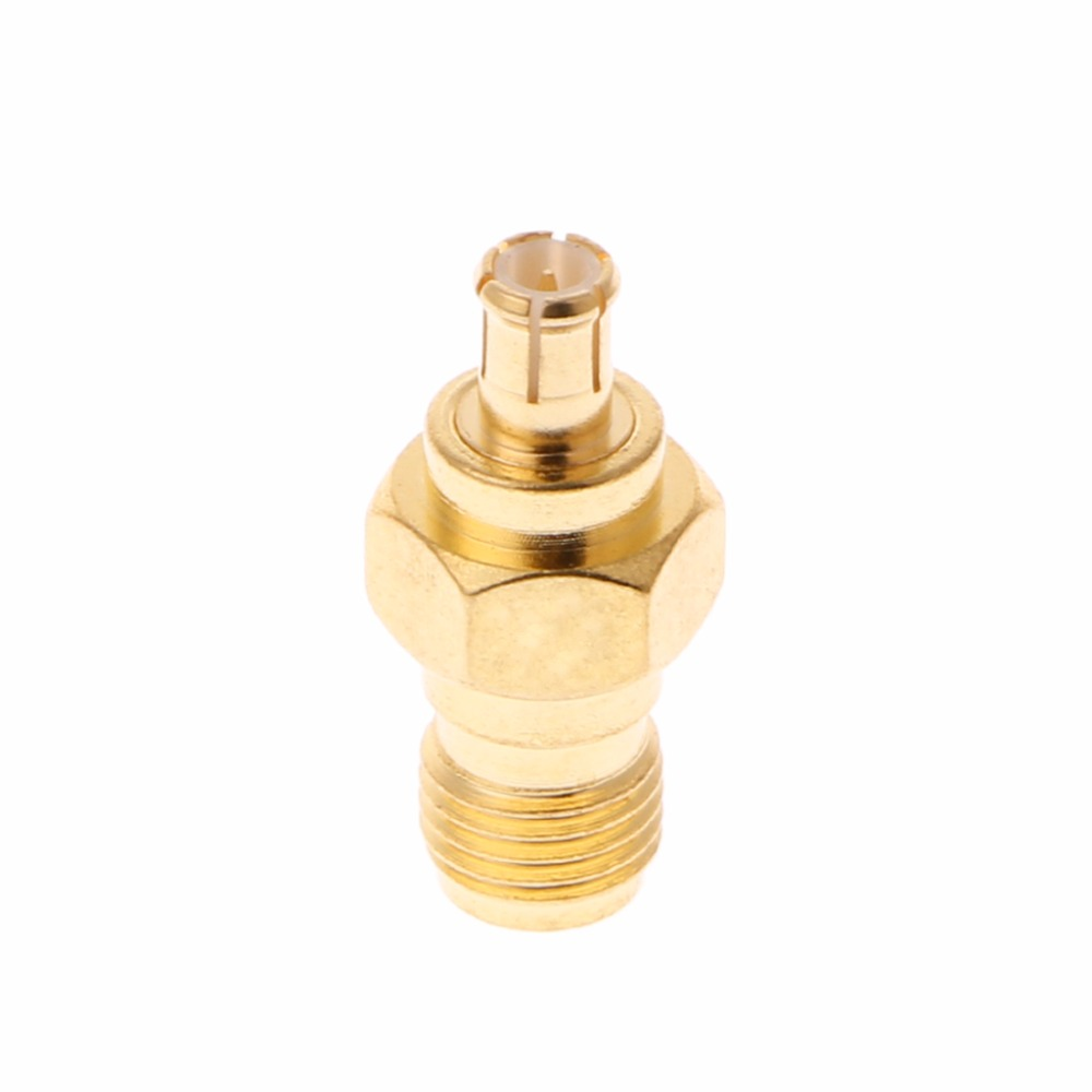 New Straight RF Coaxial Adapter Connector Converter SMA Female To MCX Male Plug