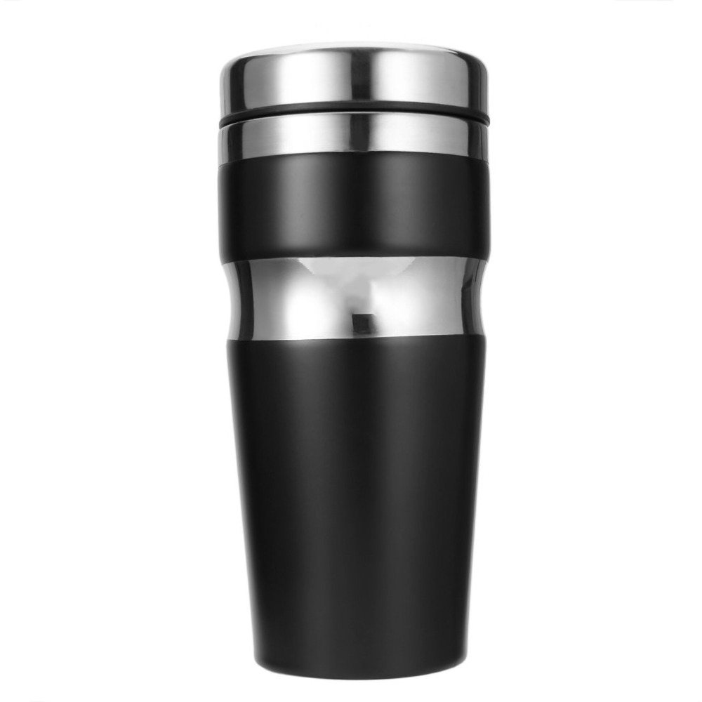 Edelstahl Thermoskanne Us 9 72 26 Off Dual Layer Edelstahl Thermoskanne Tasse Auto Isolieren Thermische Wasserflasche Reise Kaffeetasse Thermocup Für Camping In Dual
