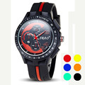 2016 Clock Mens Watch Luxury Silicone Sport Analog Quartz Modern Wrist Watch Men's Watch Relogio Masculino Relogio Feminino
