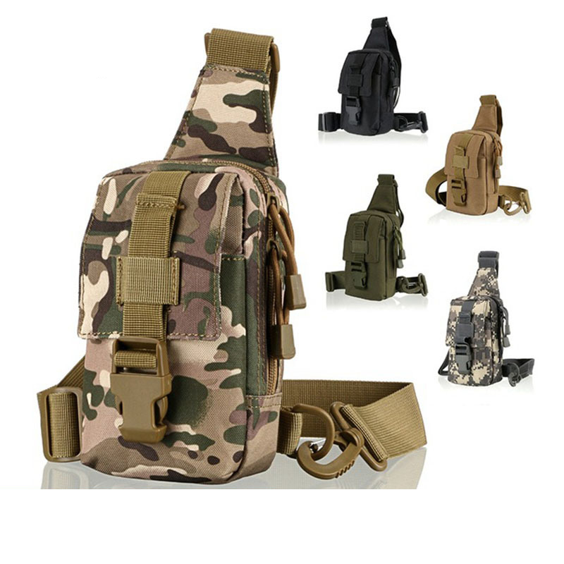 Camping & Hiking Smart Tactical Sling Military Backpack For Men Bag Molle Fishing Hiking Hunting Molle Bags Sports Bag Lady Chest Body Single Shoulder Yet Not Vulgar Sports & Entertainment