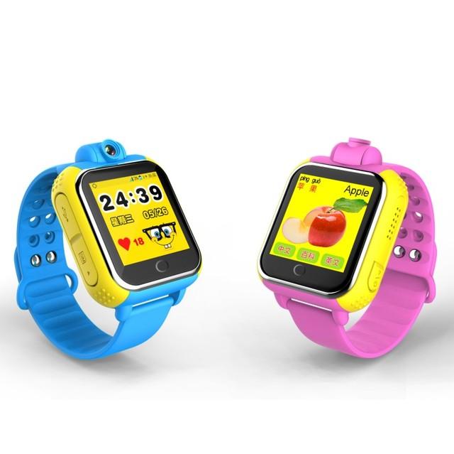 G75 gps relógio rastreador para crianças crianças smart watch com sos telefone android & ios alarme anti perdido pulseira pulseira inteligente