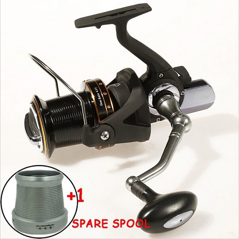 ФОТО Long shot distant wheel spinning fishing reel 8000 13+1BB saltwater high-profile upscale carp reel carretilha Pesca Carp Fishing