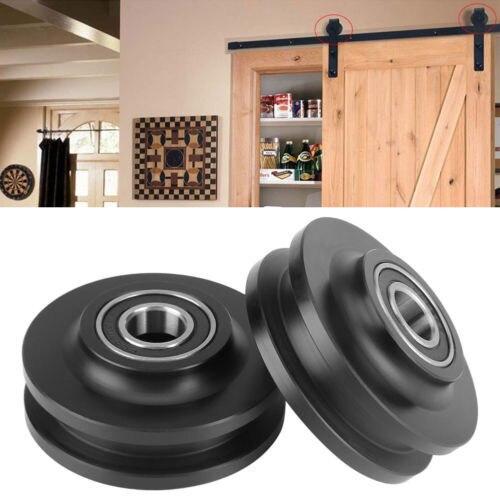 Eco Friendly Pom Sliding Barn Door Wheel Closet Hardware Roller