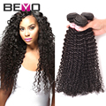 Top Brazilian Kinky Curly Virgin Hair 4 Bundles 8A Brazilian Virgin Hair Afro Kinky Curly hair Thick Human Hair Weave Bundles