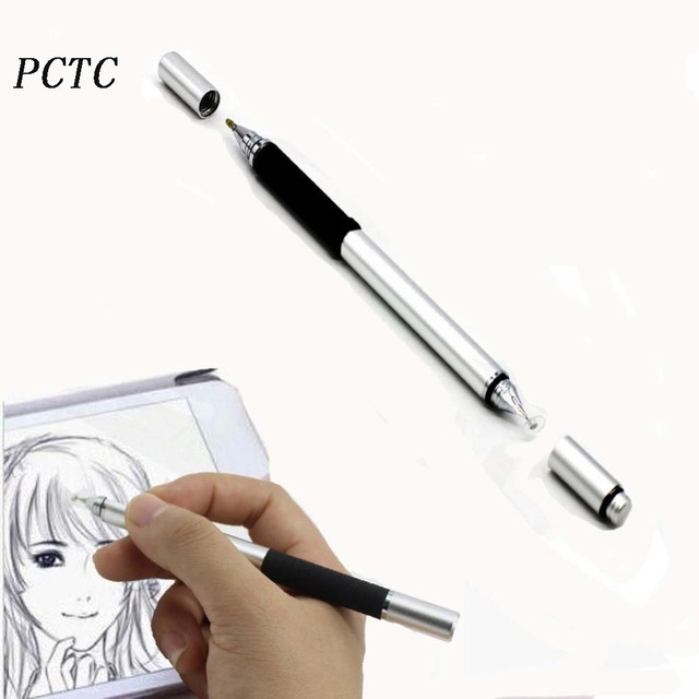 high precision capacitive touch screen stylus ballpoint pen for