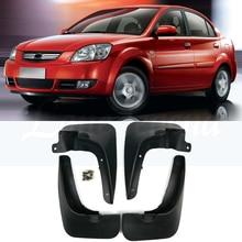 OE Styled Car Mud Flaps For Kia Rio Sedan 2006 2007 2008 2009 2010 2011 Mudflaps Splash Guards Mud Flap Mudguards Accessories