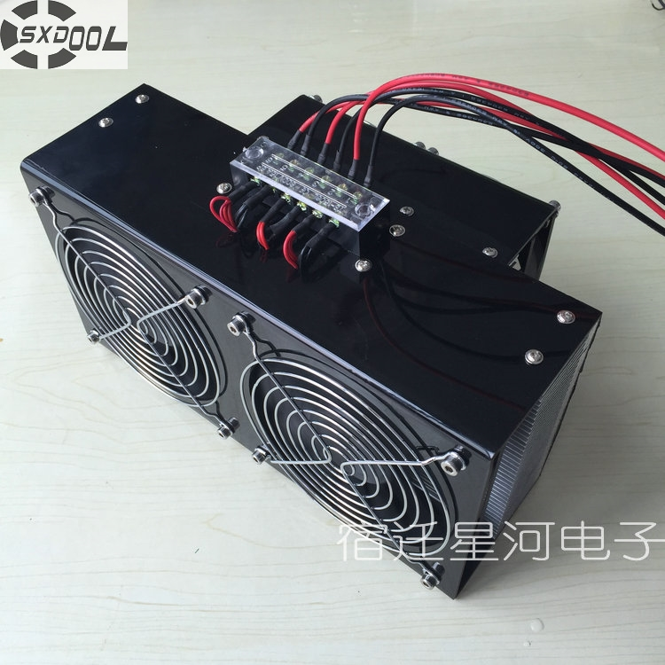 SXDOOL semiconductor electronic refrigeration air cooling cooler air conditioning DC12V 360W 738w cooling capacity refrigeration compressor r134a suitable for bottle cooler and beverage chiller