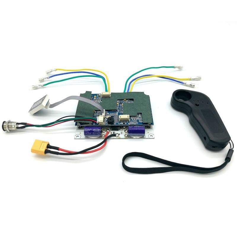 Contrôleur de planche à roulettes électrique planche à roulettes conseil de pilote à entraînement unique moyeu de détection externe panneau moteur 36V contrôleur de planche à roulettes - 6