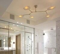 2016 Modern LED living dining room pendant lights suspension luminaire led ring lighting lamp fixture 5/9/11 head LED 110 220V