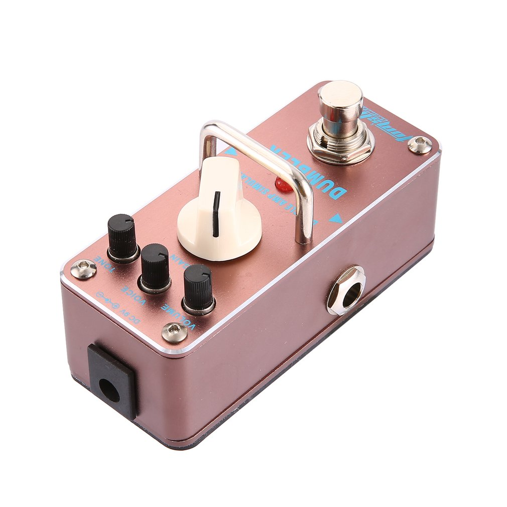 aroma adr 3 dumbler amp simulator mini single electric guitar effect pedal with true bypass. Black Bedroom Furniture Sets. Home Design Ideas