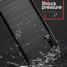 For Samsung Galaxy A70 Case Carbon fiber FD01