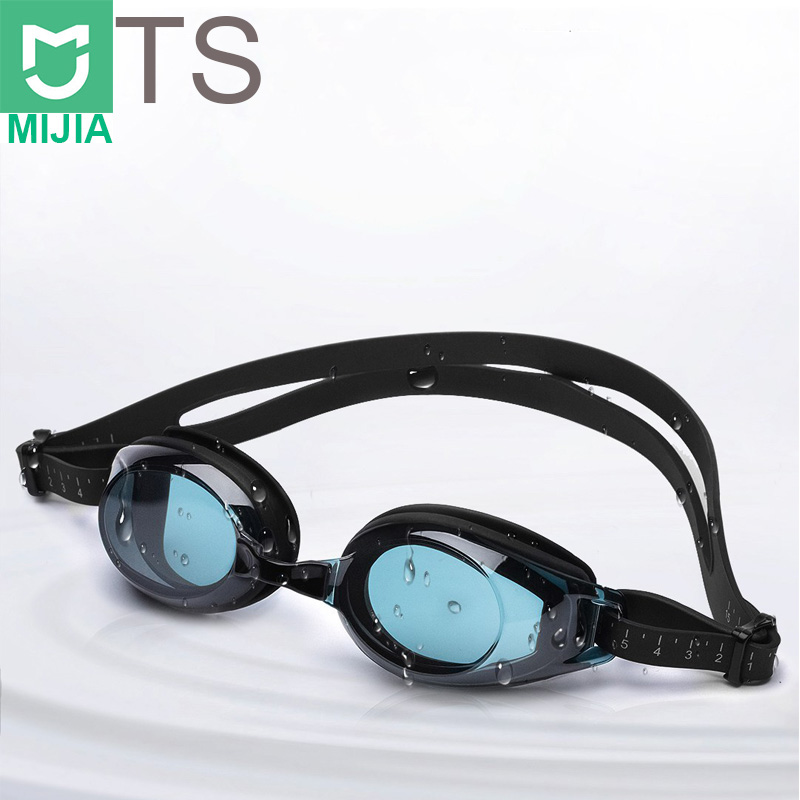 Xiaomi TS Swimming Goggles Glasses Turok Steinhardt Brand Audit Anti-fog Coating Lens Waterproof Swim Goggles Widder Angle Read