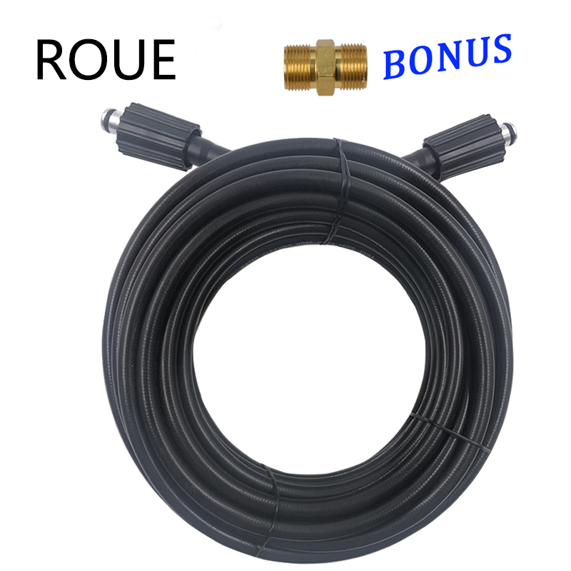 For Karcher Elitech Interskol Huter High Pressure Washer Hose Cord Pipe CarWash Hose Water Cleaning Extension Hose M22-pin 14/15