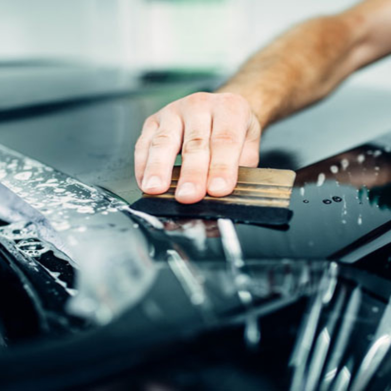 HOHOFILM 1.52x5m PPF Clear Car Paint Protection Film Car Body Decor Wrap Film Protective Film Scratch Proof 60''x196.8''