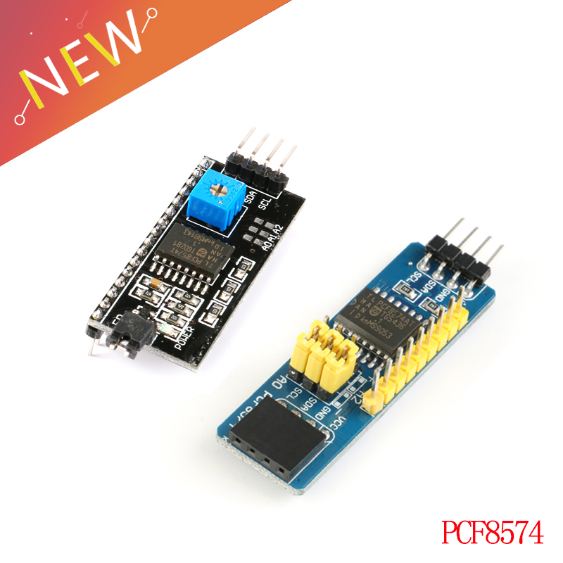 10pcs IIC//I2C//TWI//SP​I Serial Interface Board Module Port For 1602 LCD Display