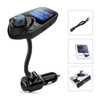 Eincar FM Bluetooth FM Transmitter Radio Adapter Car Kit With 5V 2 1A USB Car Charger