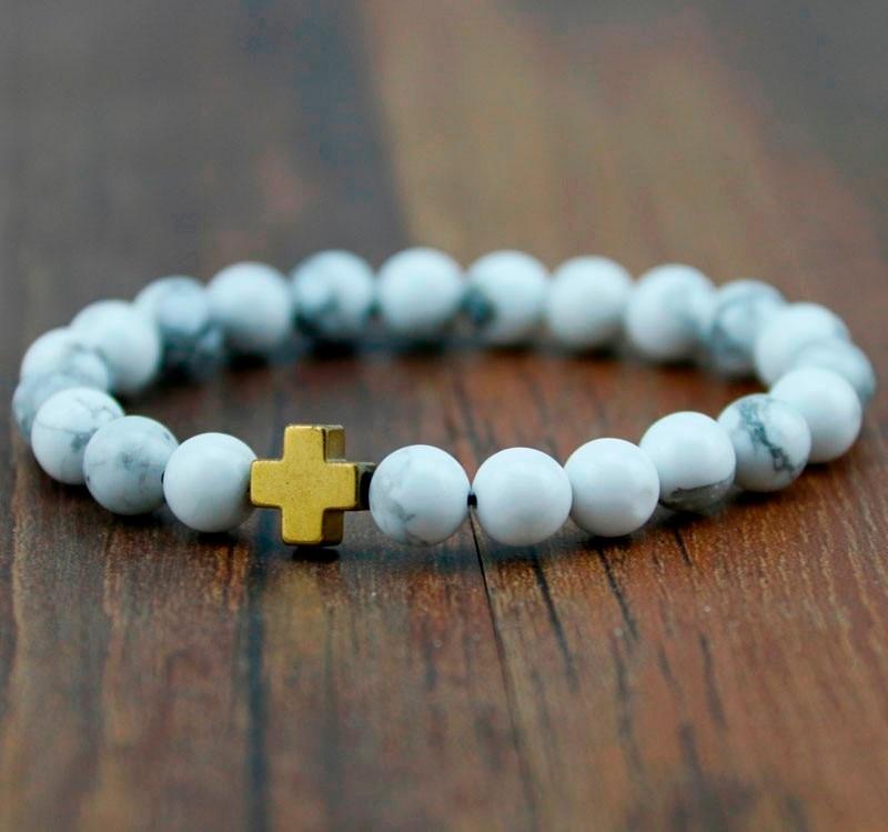 HTB1ec.eMXXXXXa2XFXXq6xXFXXX8 - Unisex Lava Stone Style Beads Bracelet