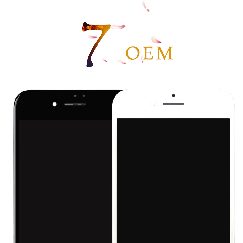 Digitizer-Assembly Display Touch-Screen iPhone 7 Replacement-Parts Black for LCD 100%Test
