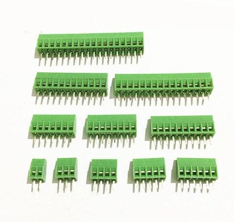 50Pcs Per Lot Universal 2 54mm Pitch 8 Pin 8 Poles PCB Screw Terminal Block Connector