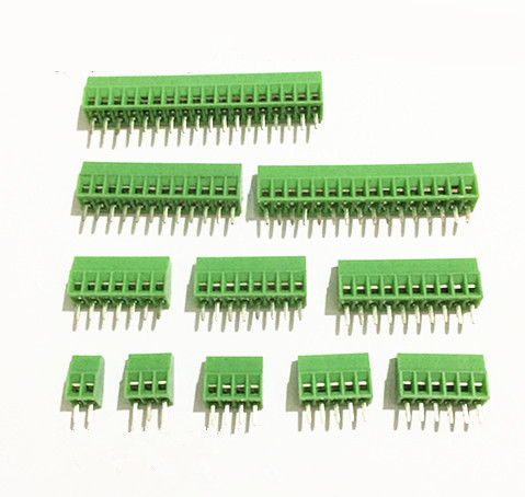 50Pcs Per Lot Universal 2.54mm Pitch 8 Pin 8 Poles PCB Screw Terminal Block Connector-in Connectors from Lights & Lighting    1
