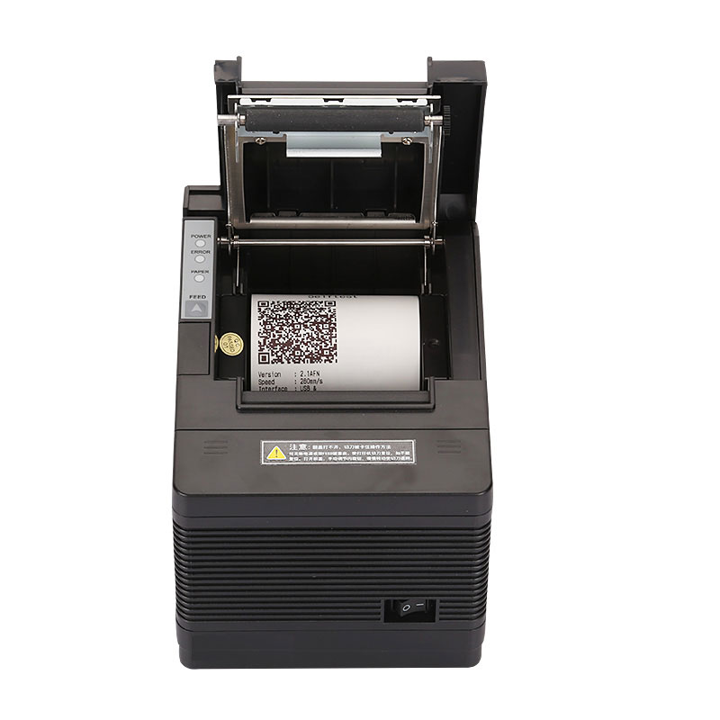 High quality Original  80mm auto cutter USB+Serial+Ethernet Thermal receipt printer POS printer wholesale brand new 80mm receipt pos printer high quality thermal bill printer automatic cutter usb network port print fast