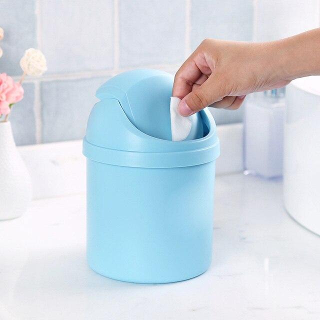 Us 278 43 Offśliczne Mini Pojemnik Na Odpady Biuro W Domu śmieci łazienka Kosza Na śmieci śmieci Pulpit Pole Tabeli Kosz Na śmieci Różne