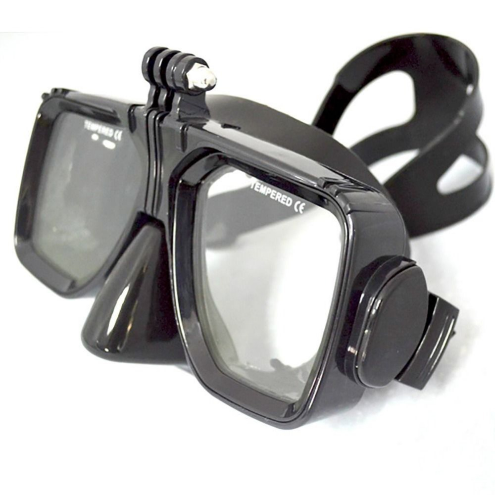 For GoPro Tilbehør Dykking Mount of Scuba Dive and Snorkel Diving Mask Svømming Goggles Herdet briller For Go pro hero7 6 5