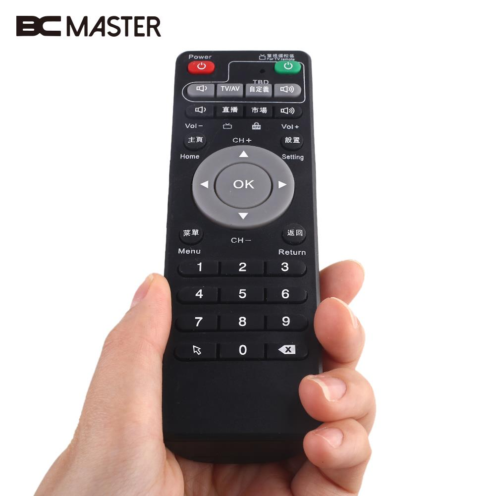 Smart TV Receiver Remote Remote Controller TV Remote Learn Function Wireless Infrared Replacement TV Box Television Ubox