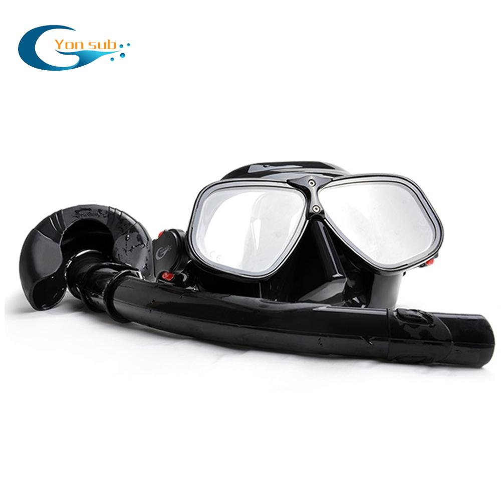 Professional Scuba Diving Mask Set Magnesium And Aluminum Alloys Silicone Mask Snorkeling Underwater Hunting Diving Equipment