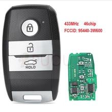 цены на Smart Remote Car Key Fob 3 Button 433MHz ID46 Chip for Kia K5 Sportage Sorento 2014 P/N 95440-3W600  в интернет-магазинах