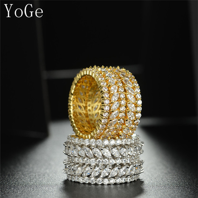 Round marquise stones ring
