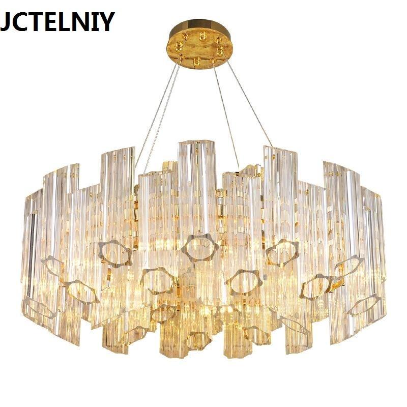 Post-modern crystal chandeliers modern simple living room bedroom lights light design gold LED new restaurant chandeliers автоинструменты new design autocom cdp 2014 2 3in1 led ds150