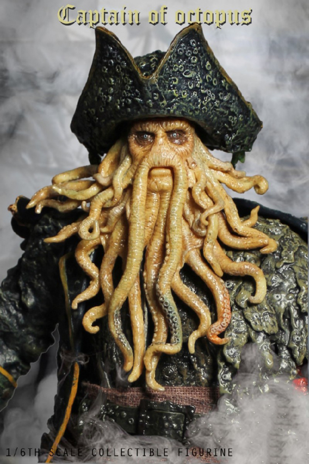 1/6 Caribbean Captain Action Figure Davy Jones figure doll full set doll With ACC Colletible Model Toys And original box 7