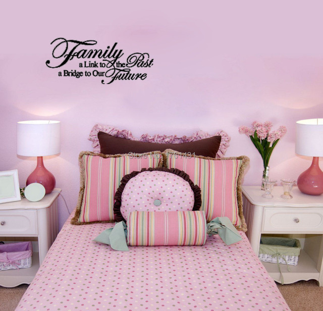 Family Future Removable wall stickers living room decorative ...