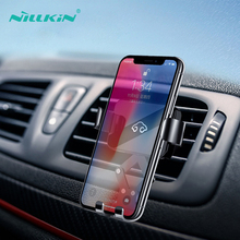 Gravity Bracket Car Phone Holder Stand NILLKIN 360 Degree Mini In Air Vent Mount For iPhone x Xiaomi 9 Huawei P30 Pro