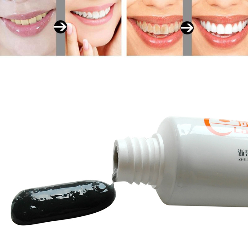 50g De Bambu Preto Carvao Creme Dental Clareamento Dos Dentes