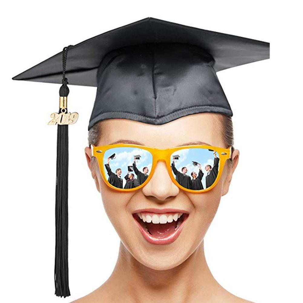 2019 Bachelor Clothing Graduation Cap Tassel 9 Inch Hanging Pendant Tassel Bachelors Master Doctor Academic Hat