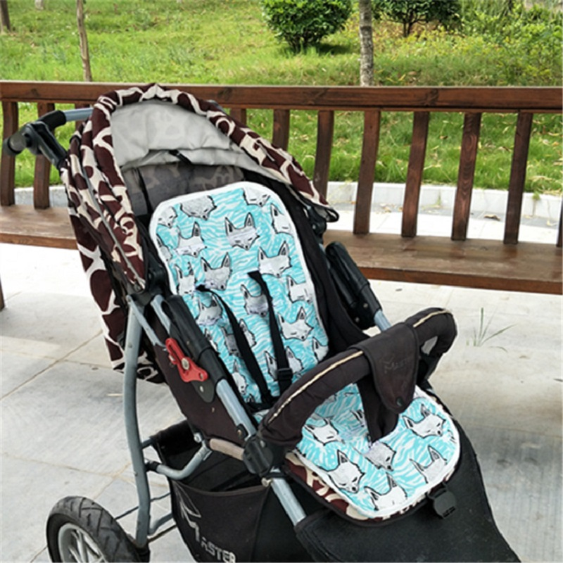 Baby Stroller Seat Cotton Comfortable Soft Child Cart Mat Infant Cushion Buggy Pad Chair Pram Car Newborn Pushchairs Accessories v4 luxury baby stroller plush super comfortable baby pram buggy kids boys girls child cart dsland branded tricycle free shipping