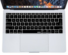 XSKN German Notebook Keyboard Skin Cover for Macbook 12 A1534 & for 2016 New Macbook 13 inch A1708 (Flat Keys, No Touch Bar) for macbook 12 a1534 switzerland swiss keyboard w topcase 2015 2016 2017 years gold gray grey silver rose gold color