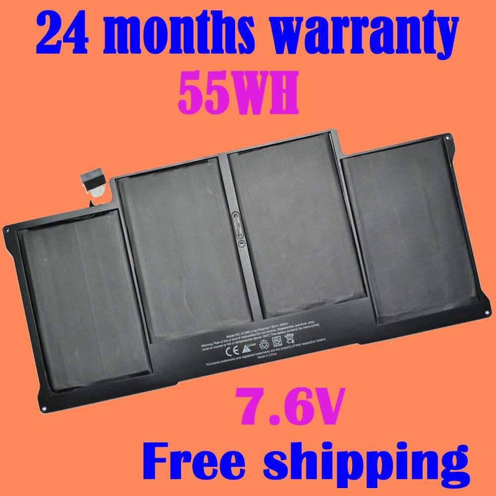 JIGU A1369 A1377 A1496 A1466 Laptop battery For Apple MacBook Air 13 MC503 13 MC504 MD760CH/A MD232CH/A MD760CH/A jigu air 13 a1369 mc504 a1377 a1405 a1466 mc965 mc966 md231 md232 laptop battery
