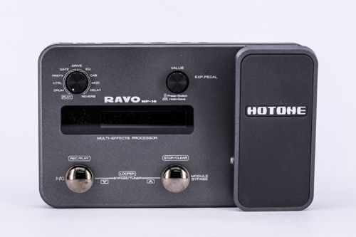 Cheap Hotone RAVO Multi-effects Processor  USB Audio Interface  Guitar Pedal best live performance and recording tool